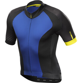 Mavic Cosmic Elite Bike Jersey Shortsleeve Men blue/black